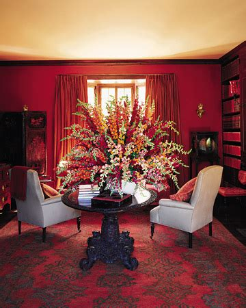VIBRANCE AND CHAOS: Red Hot Chili Pepper colored rooms