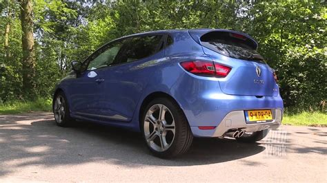 Renault Clio GT road test - YouTube