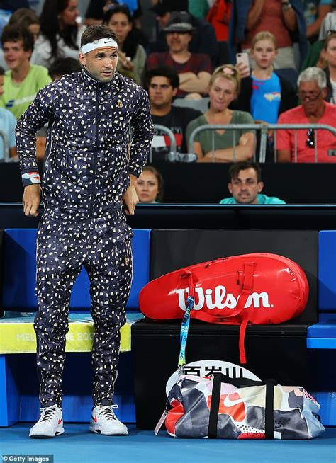 Tennis ace Grigor Dimitrov is ridiculed over tracksuit at