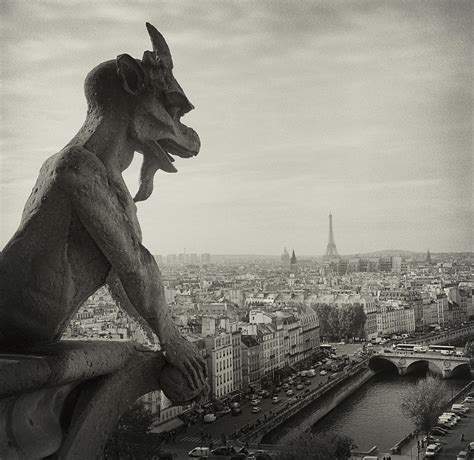 Gargoyle Of Notre Dame Photograph by Zeb Andrews