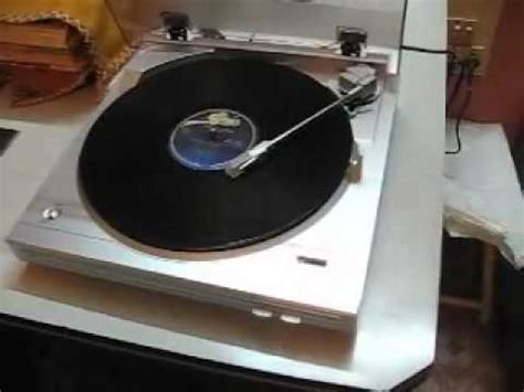 My First Turntable - Denon DP-29F - YouTube
