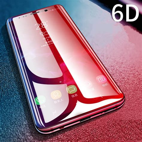 6D Protective Glass for Xiaomi Redmi Note 5 6 Pro Tempered