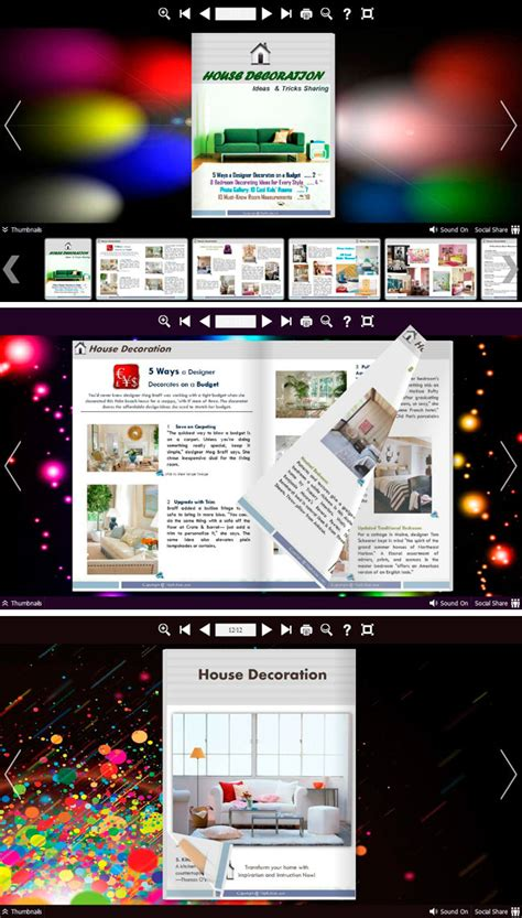 Neat Colorful: 6 different templates with colorful