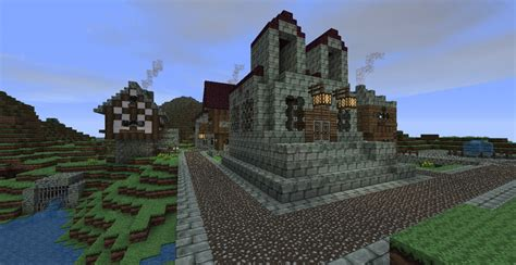 Small medieval village Minecraft Project