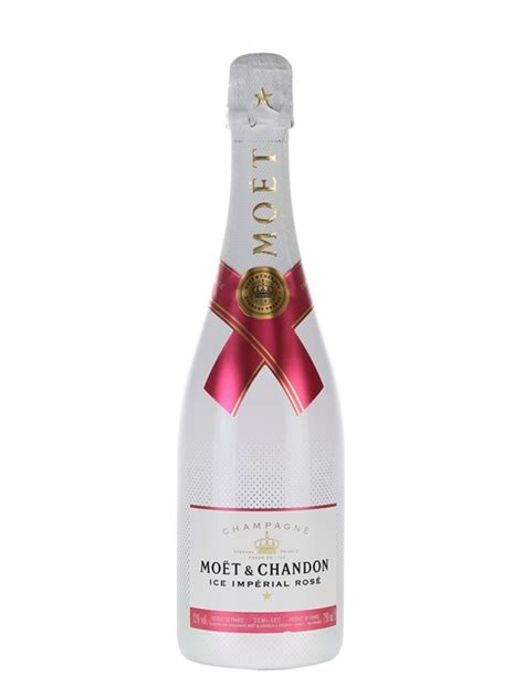 Moet Ice Imperial Rose Champagne : The Whisky Exchange