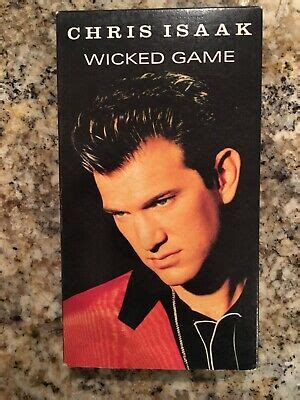 Chris Isaak - Wicked Game (VHS, 1991) 75993823738   eBay