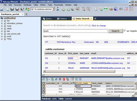 A powerful management tool for MySQL with similar features