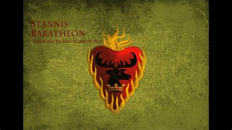 Game of Thrones - Soundtrack House Stannis Baratheon - YouTube