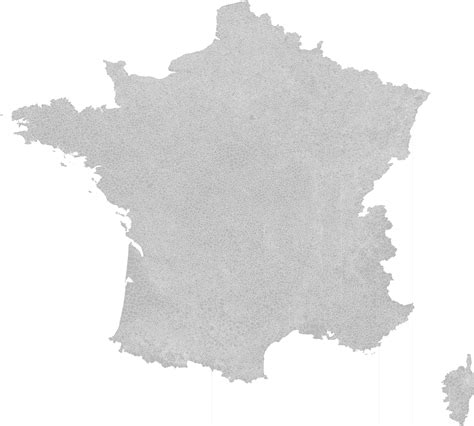 File:Blank Map of France, with Communes